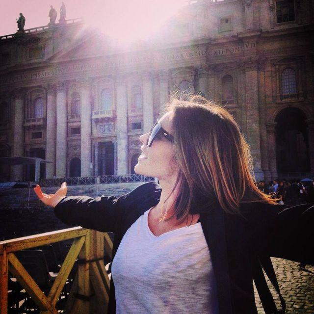 Herbuś w Rzymie, Doda w Paryżu (FOTO)