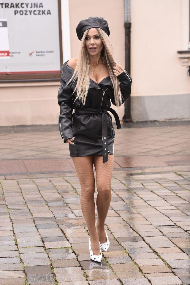 Doda drugiego dnia w Opolu - jak ubrała się na wywiad? (ZDJĘCIA)