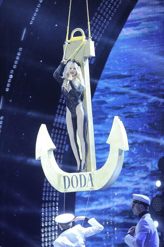 Sylwestrowe show Dody rzeczywiście było imponujące? (FOTO)