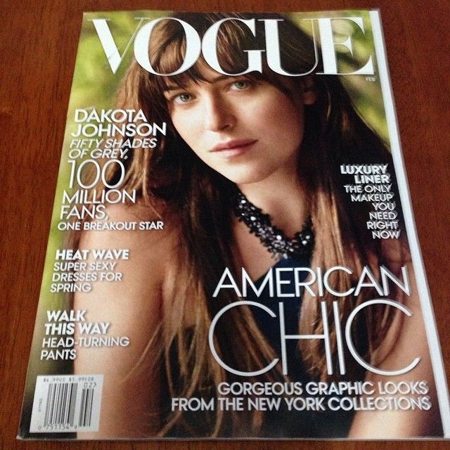 Dakota Johanson trafi�a na ok�adk� Vogue'a! (FOTO)