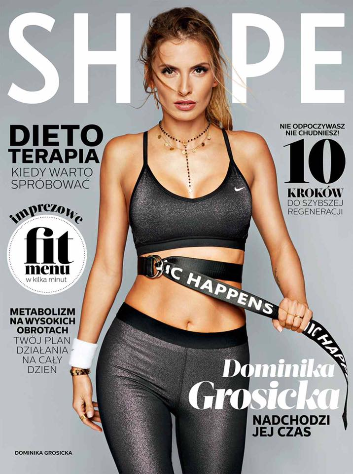 WOW! Torpeda - Dominika Grosicka w nowym SHAPE
