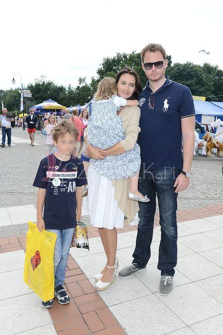 C�rka Kulczyka z m�em i dzie�mi (FOTO)