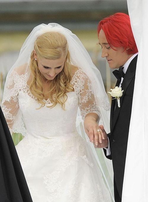 Ile kosztowała suknia ślubna Dominiki Tajner?