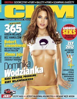 Dominika Wodzianka: Wojewódzki całuje lepiej od Nergala