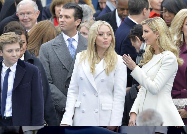Wszystkie dzieci Donalda Trumpa na zaprzysiężeniu prezydenta (FOTO)
