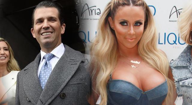 Donald Trump Jr miał ROMANS z seksowną Aubrey O'Day