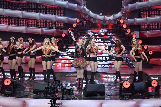 Seksowne Słowianki na scenie w Sopocie (FOTO)