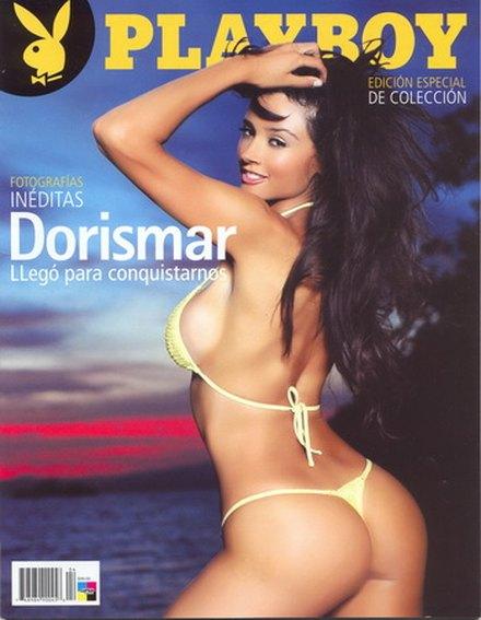 Dorismar naga w ciąży dla Playboya (FOTO)