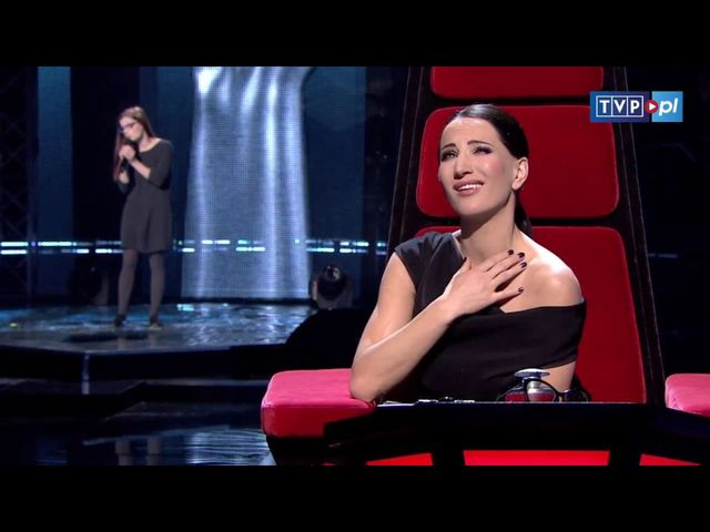 Jurorzy The Voice popłakali się słysząc Dorotę Osińską