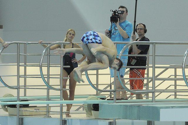 Maciej Dowbor miał wypadek na treningu do Celebrity Splash