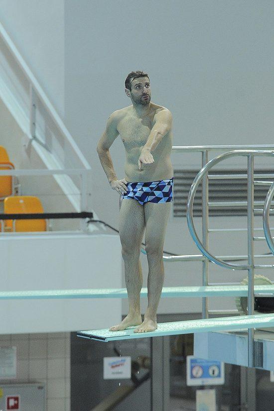 Maciej Dowbor mia� wypadek na treningu do Celebrity Splash