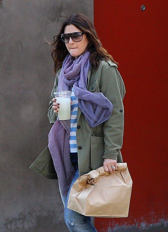 Drew Barrymore zmęczona macierzyństwem? (FOTO)