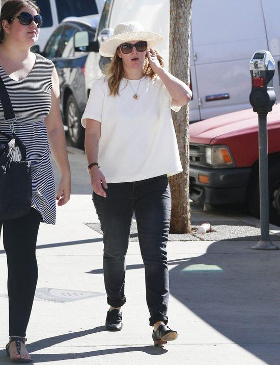 Drew Barrymore tyje w oczach (FOTO)