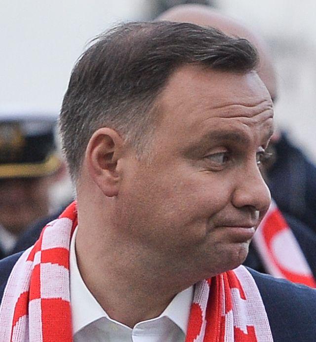 Miny Andrzeja Dudy najlepszym podsumowaniem meczu Polska - Kolumbia