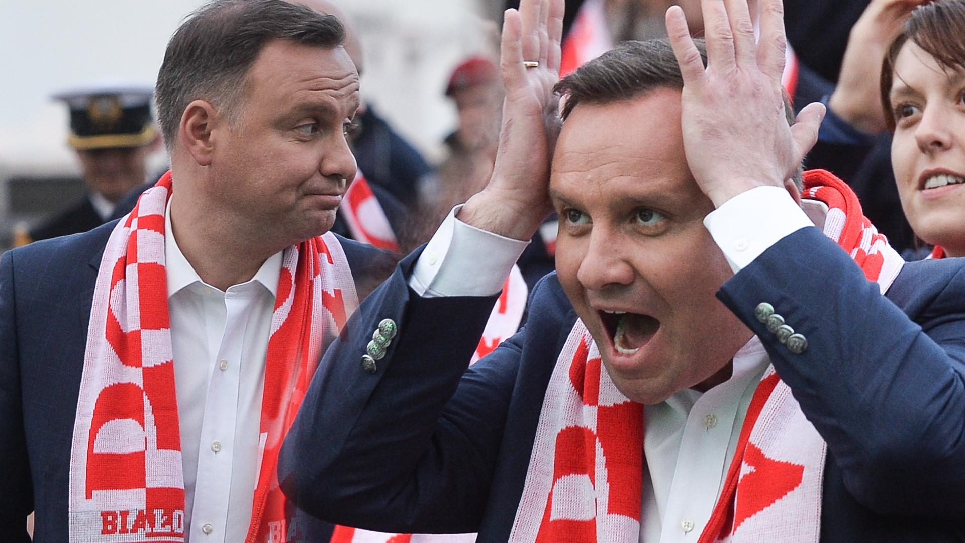 Miny Andrzeja Dudy najlepszym podsumowaniem meczu Polska – Kolumbia