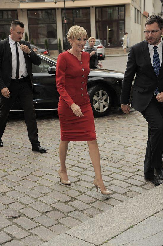 Agata Duda ma bardzo zgrabne nogi (FOTO)