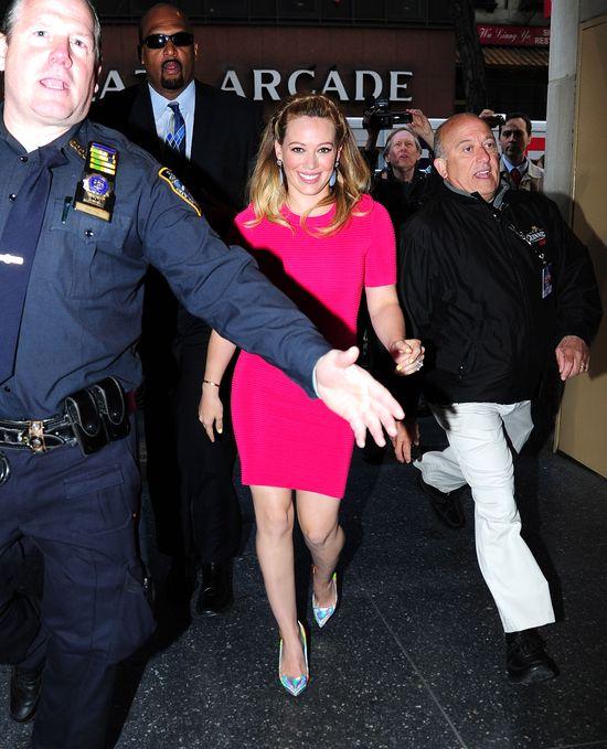Różowa Hilary Duff
