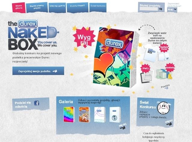 Konkurs! Zaprojektuj nowe pudełko Durex i wygraj nagrody
