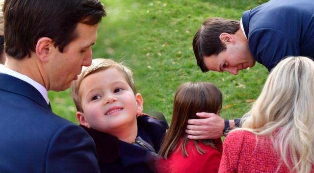Śliczne dzieci, opiekuńczy mąż – sielanka u Ivanki Trump (ZDJĘCIA)