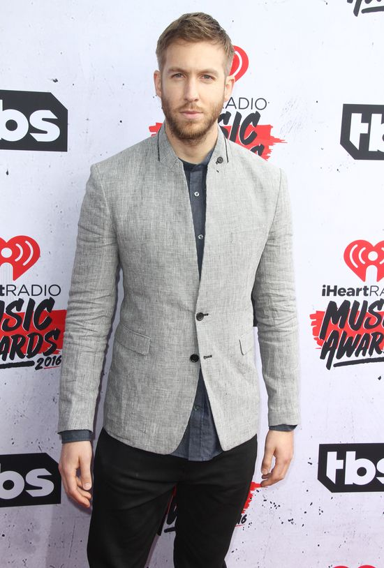 Calvin Harris na rozdaniu nagr�d iHeartRadio