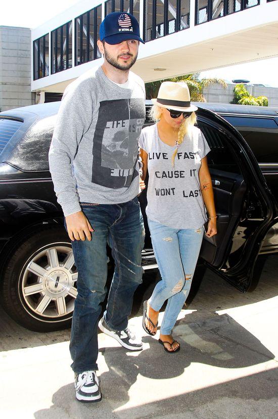 Christina Aguilera schudła