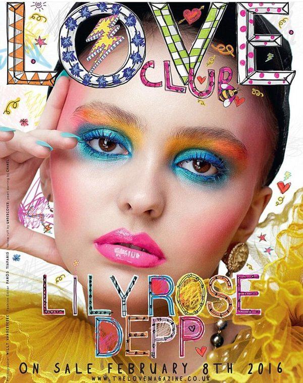 Lily Rose Depp na swojej pierwszej okładce