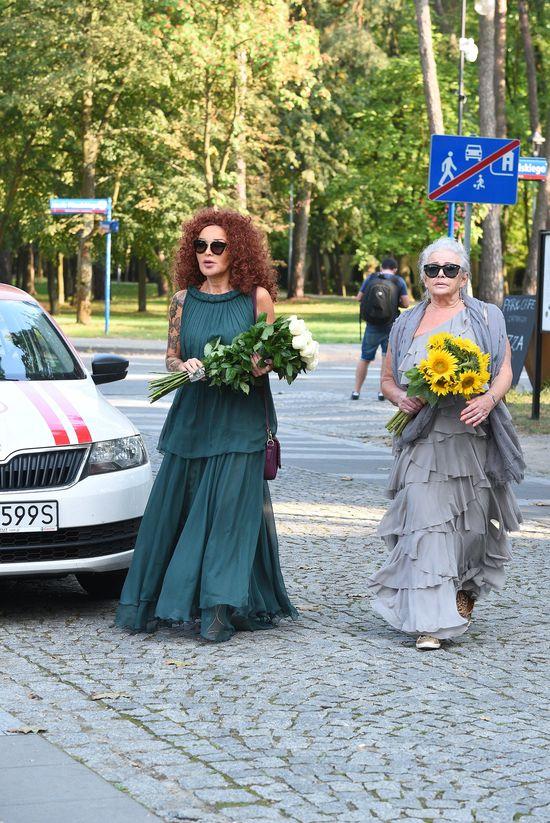 Ewa Minge na ślubie Małgorzaty Rozenek i Radka Majdana