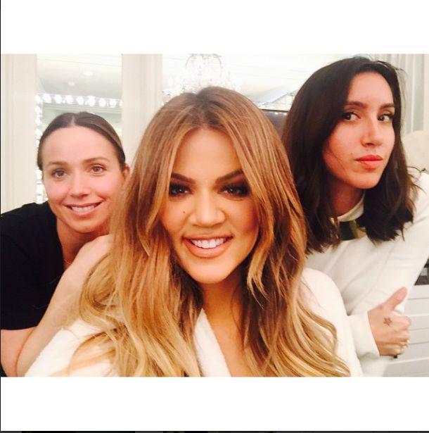 Khloe Kardashian blondynką