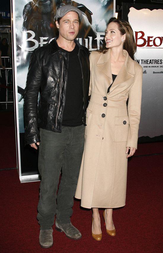 Angelina Jolie i Brad Pitt w 2007.