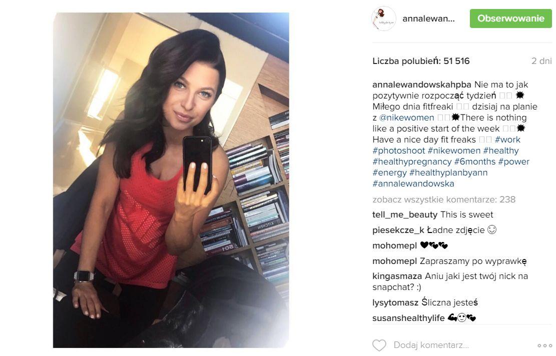 Fanki bez obciachu: Ania, jak Ci piersi urosły! (Instagram)