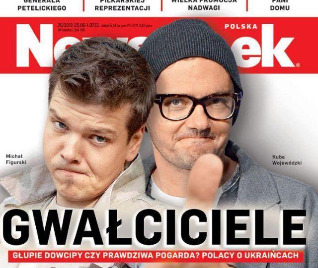Kuba Wojewódzki z Michałem Figurskim, Newsweek.