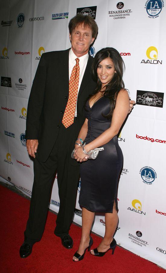 Bruce Jenner z Kim Kardashian, 2004 rok