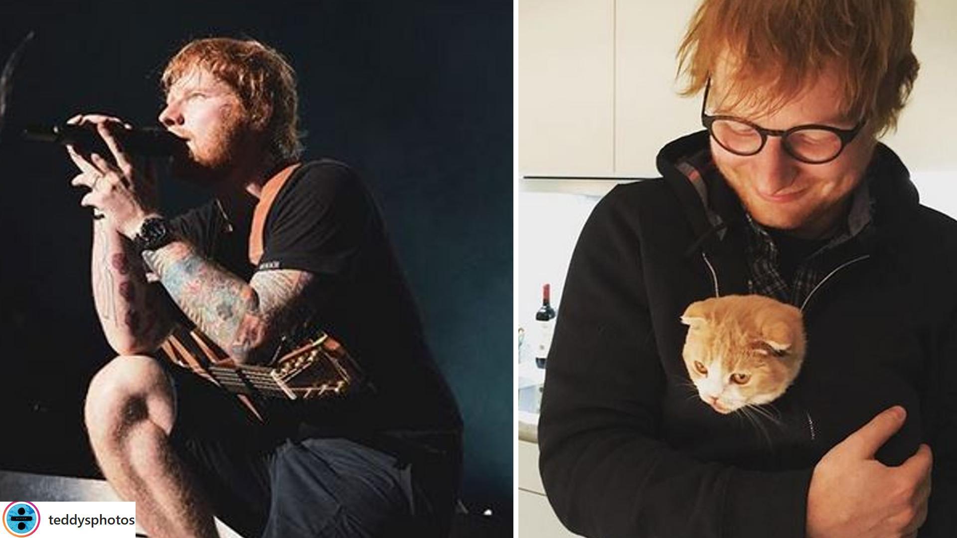 Oto, czego zażyczył sobie Ed Sheeran przed koncertem w POLSCE