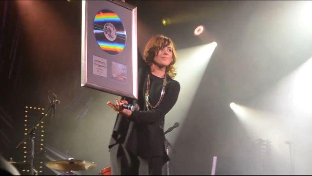 WPADKA przy wręczeniu platynowej płyty Bartosiewicz (VIDEO)