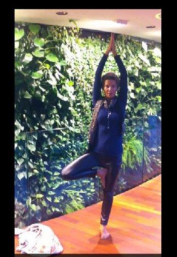 Edyta Górniak ćwiczy jogę (FOTO)