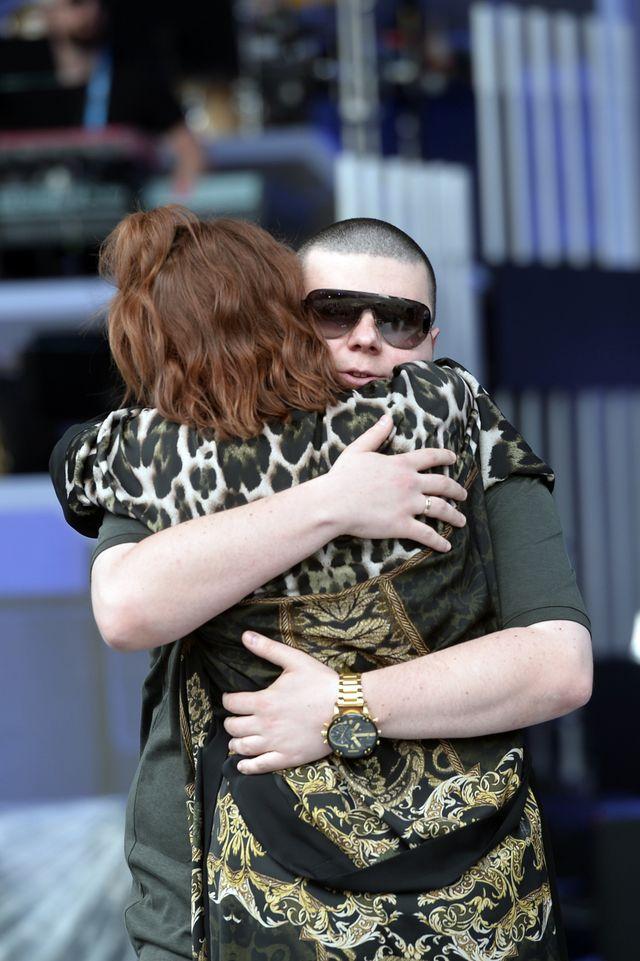 Edyta Górniak uderzyła W TWARZ Donatana, bo zjechał ręką na jej pupę (VIDEO)