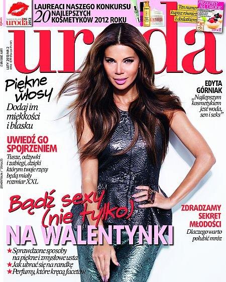 Edyta Górniak: Najlepszym kosmetykiem jest woda...