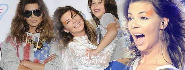 Edyta Górniak z synem Allanem na Viva Comet (FOTO)