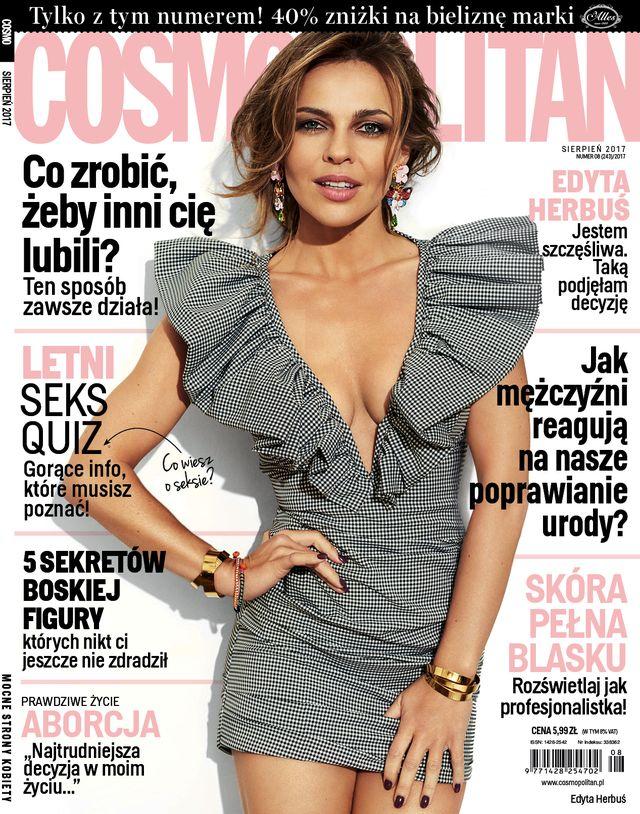 Edyta Herbuś w nowym COSMO: Skupiając się zbyt mocno na wyglądzie...