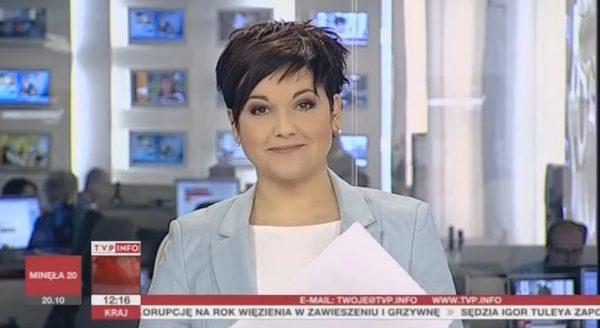Edyta Lewandowska wraca do TVP Info