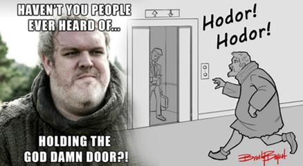 Najlepsze memy z Hodorem z Gry o Tron