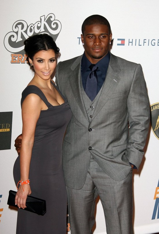 Kim Kardashian i Reggie Bush - 2009 r.