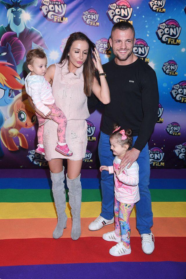 Eliza Wesołowska Trybała z całą rodziną na premierze My Little Pony (ZDJĘCIA)