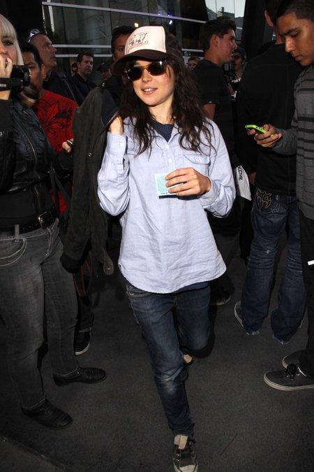 Ellen Page ktoś groził śmiercią na Twitterze