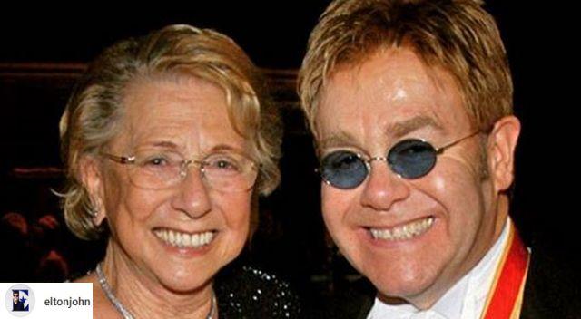 Elton John nie rozmawiał ze swoją mamą prawie 10 lat. Teraz oznajmił, że zmarła