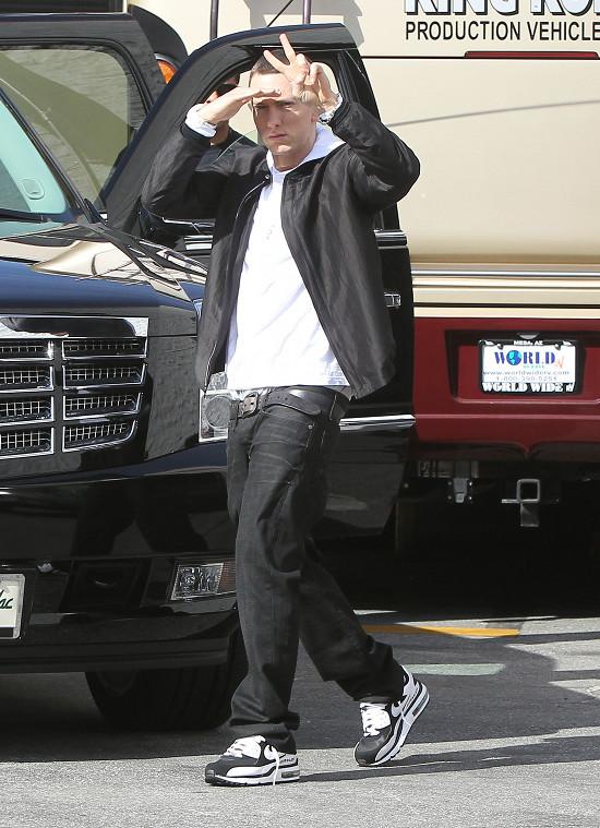 Eminem jest przerażony chłopakiem własnej córki...