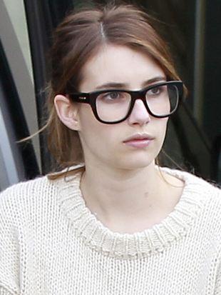Emma Roberts na co dzień wygląda jak zwyczajna dziewczyna