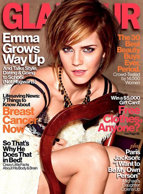 Emma Watson: Chłopcy nie znosili moich krótkich włosów(FOTO)