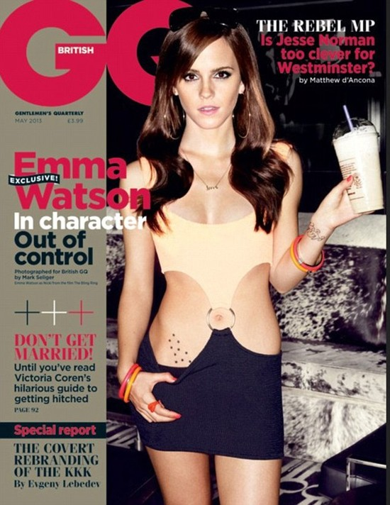 Emma Watson jest super seksowna na ok�adce GQ (FOTO)