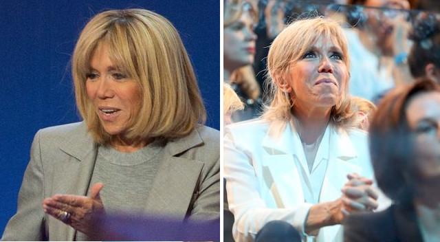 Zobaczcie, co się stało z twarzą Brigitte Macron (ZDJĘCIA)